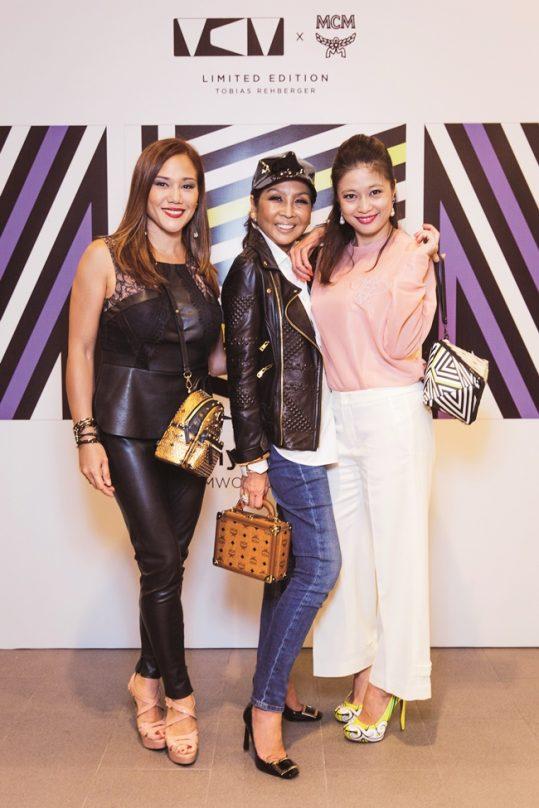 Elyna Effendi, Dato' Seri Dr Farah Khan & Mariam Teh