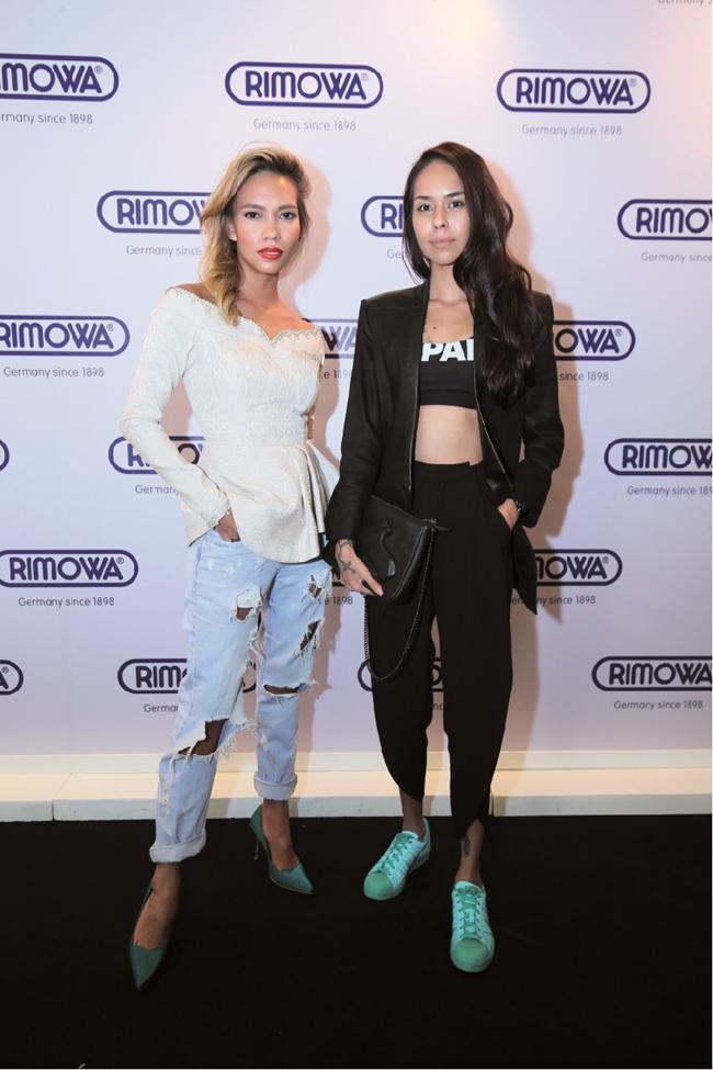 L – R – Lexie Rodriguez & Kim Raymond
