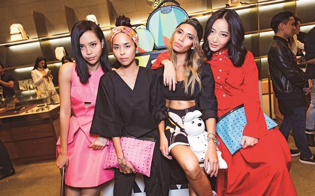 Lynn Lim, Kim Raymond, Lexie Rodriguez & Jojo Goh