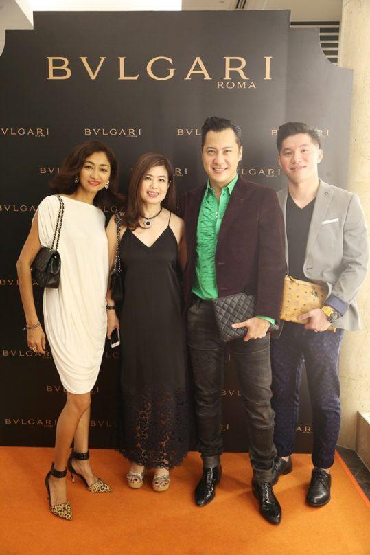 Monica Lee, Sharon Low, Albert Nicomedes & Jack Lim