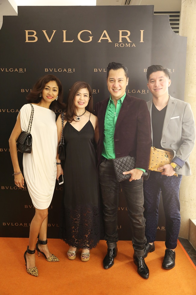 Monica Lee, Sharon Low, Albert Nicomedes & Jack Lim