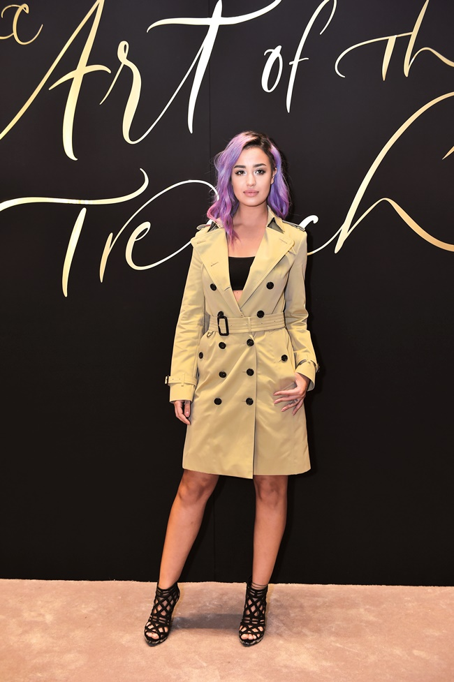 Nina Abdel Malak at Art of the Trench Middle East Event in D