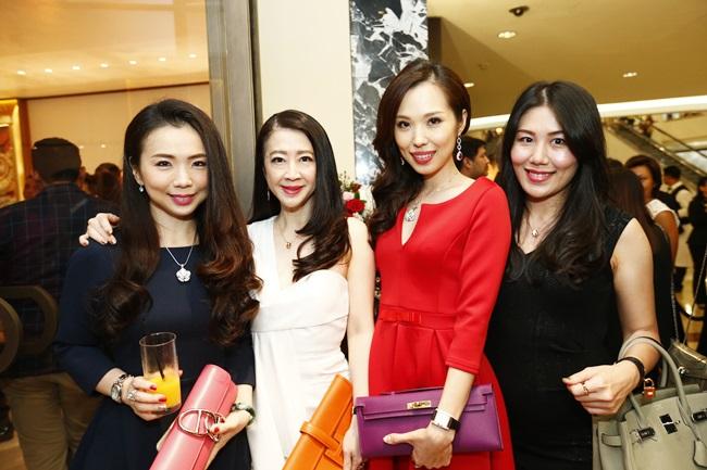 Pauline Gan, Christine Cheah, Lavance Lim & Datin Penny Goh