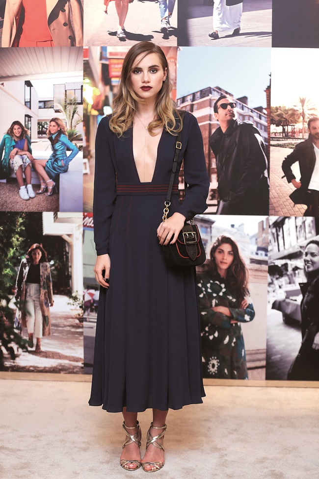 Suki Waterhouse at Art of the Trench Middle East Event in Du