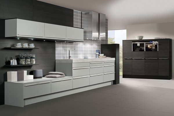 Gray Color Kitchen Cabinets
