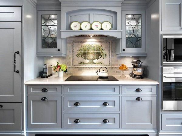 Tip Memilih Material Kabinet Dapur Glam Malaysia English Country Style Kitchen Mtdesign