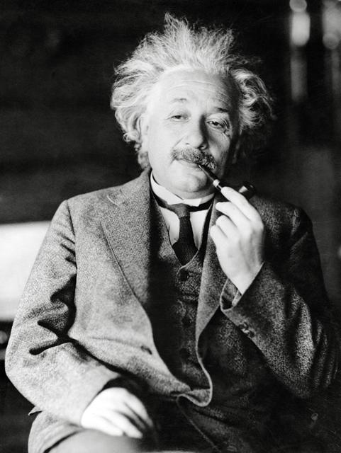 Albert Einstein, circa 1933.