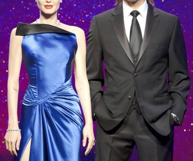 Patung Lilin Brad Pitt dan Angelina Jolie Berpisah