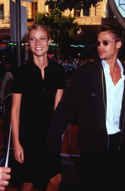 Gwyneth Paltrow and Brad Pitt in 1997