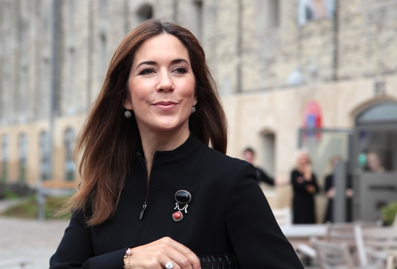 Sept. 11, 2014 - Copenhagen, Denmark - Crown princess Mary at the opening of the Dane Age's symposium on loneliness: ''Community as a national cause'' at Nordatlantens Brygge, Copenhagen, 14.09.2014..Credit: Christophersen/PPE/face to face.- No Rights for Netherlands (Credit Image: © face to face/ZUMA Wire)