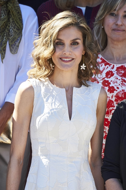 Queen Letizia of Spain attends the 25th Fedepe awards ceremony in Madrid, SPain on July 26, 2016. Fedepe is the Spanish Federation of businesswoman, comprising managers, executives, professionals and entrepreneurs. (Photo by Thorton/PPE/Sipa USA)