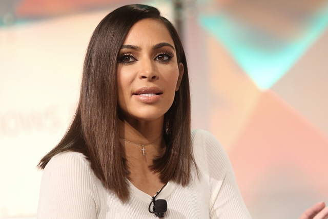 Kim Kardashian at #BlogHer16 Experts Among Us Conference held at JW Marriott  on August 05, 2016 in Los Angeles, California, United States (Photo by JC Olivera) *** Please Use Credit from Credit Field ***