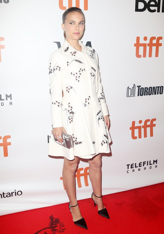 -Toronto, Canada - 9/10/2016 - Premiere For Planetarium At Toronto International Film Festival Ref: infusny-05/42 -PICTURED: Natalie Portman -PHOTO by: Dara Kushner/startraksphoto.com -Startraks_INF_0109290 Editorial - Rights Managed Image - Please contact www.startraksphoto.com for licensing fee Startraks Photo New York, NY For licensing please call 212-414-9464 or email sales@startraksphoto.com Image may not be published in any way that is or might be deemed defamatory, libelous, pornographic, or obscene. Please consult our sales department for any clarification or question you may have. Startraks Photo reserves the right to pursue unauthorized users of this image. If you violate our intellectual property you may be liable for actual damages, loss of income, and profits you derive from the use of this image, and where appropriate, the cost of collection and/or statutory damages. Startraks Photo reserves the right to pursue unauthorized users of this image. If you violate our intellectual property you may be liable for actual damages, loss of income, and profits you derive from the use of this image, and where appropriate, the cost of collection and/or statutory damages.