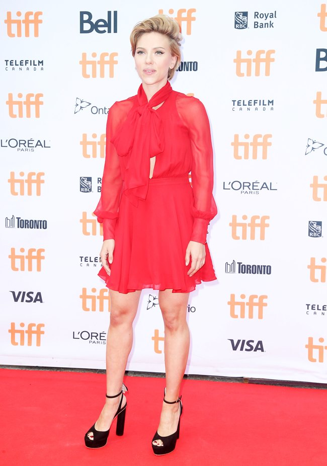 -Toronto, Canada - 9/11/2016 - Sing Premiere at Toronto International Film Festival Ref: infusny-05/42 -PICTURED: Scarlett Johansson -PHOTO by: Dara Kushner/startraksphoto.com -Startraks_INF_99634 Editorial - Rights Managed Image - Please contact www.startraksphoto.com for licensing fee Startraks Photo New York, NY For licensing please call 212-414-9464 or email sales@startraksphoto.com Image may not be published in any way that is or might be deemed defamatory, libelous, pornographic, or obscene. Please consult our sales department for any clarification or question you may have. Startraks Photo reserves the right to pursue unauthorized users of this image. If you violate our intellectual property you may be liable for actual damages, loss of income, and profits you derive from the use of this image, and where appropriate, the cost of collection and/or statutory damages. Startraks Photo reserves the right to pursue unauthorized users of this image. If you violate our intellectual property you may be liable for actual damages, loss of income, and profits you derive from the use of this image, and where appropriate, the cost of collection and/or statutory damages.