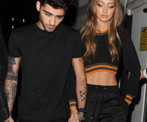 Gigi Hadid & Zayn Malik di London Fashion Week