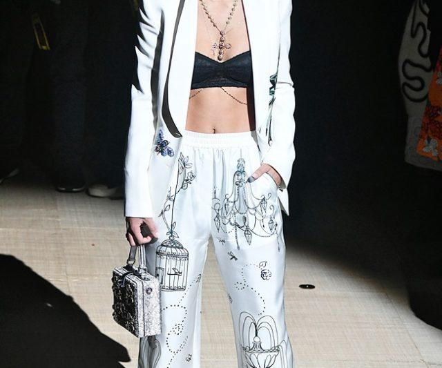 Front Row Minggu Fesyen Milan