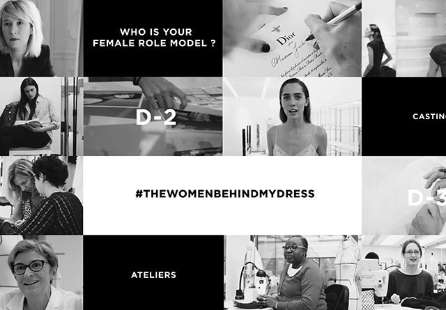 Maria Grazia: #THEWOMENBEHINDMYDRESS