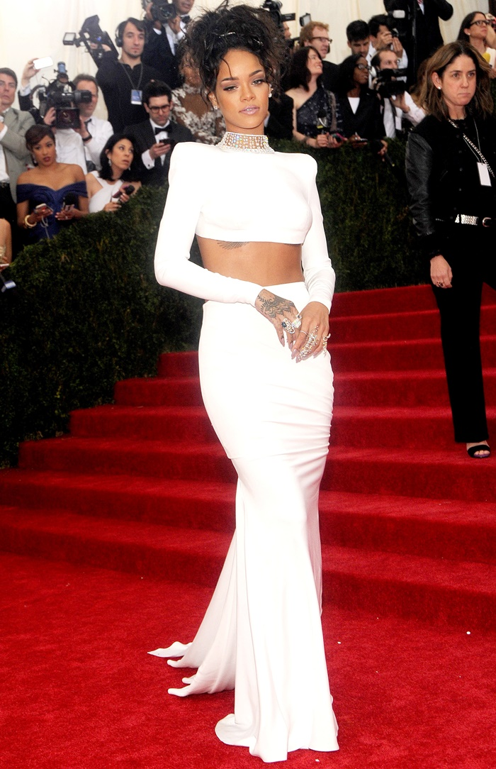 "Pictured: Rihanna Mandatory Credit © Jack Shea/Starshots/Broadimage ""Charles James: Beyond Fashion"" Costume Institute Gala - Arrivals 5/5/14, New York, New York, United States of America Broadimage Newswire Los Angeles 1+ (310) 301-1027 New York 1+ (646) 827-9134 sales@broadimage.com http://www.broadimage.com"