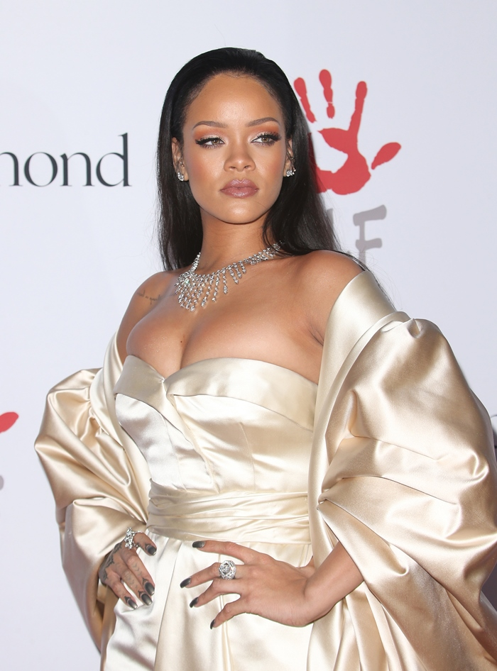 Rihanna and The Clara Lionel Foundation Host 2nd Annual Diamond Ball Featuring: Rihanna Where: Santa Monica, California, United States When: 11 Dec 2015 Credit: FayesVision/WENN.com