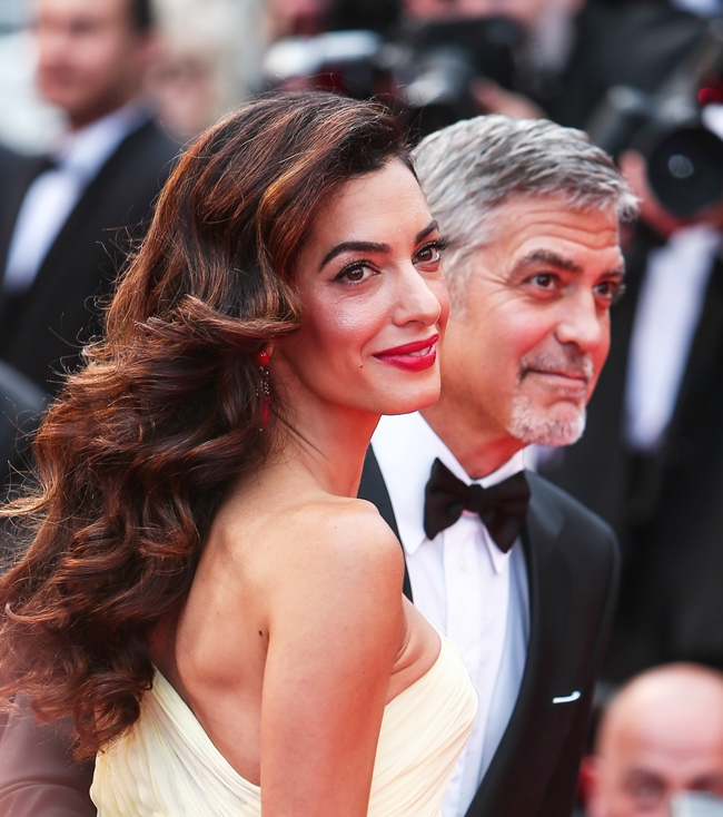 Red Carpet arrivals for the Money Monster screening at the 69th Cannes Film Festival Featuring: George Clooney, Amal Clooney Where: Cannes, France When: 12 May 2016 Credit: WENN.com