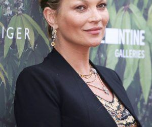 Serpentine Gallery Summer Party at Kensington Gardens - ArrivalsFeaturing: Kate Moss Where: London, United Kingdom When: 06 Jul 2016 Credit: Lia Toby/WENN.com