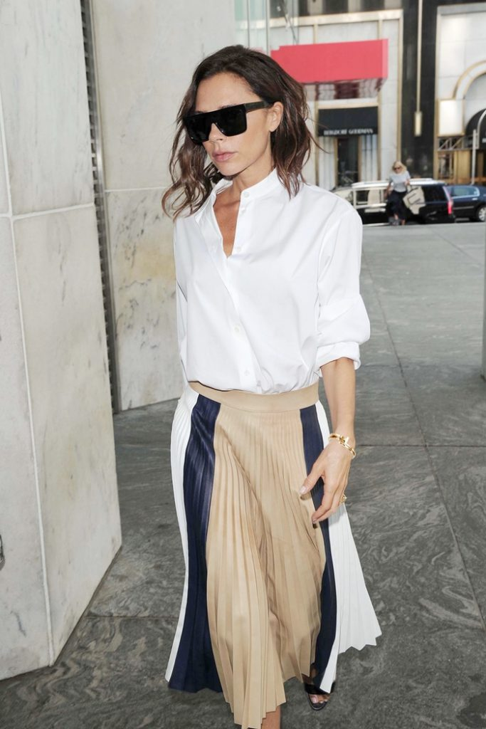 - New York, NY - 09/14/2016 - Victoria Beckham shows off her legendary style with a Tiffany & Co. T Wrap bracelet while out and about in New York City. -PICTURED: Victoria Beckham -PHOTO by: Michael Simon/startraksphoto.com -MS342137 Editorial - Rights Managed Image - Please contact www.startraksphoto.com for licensing fee Startraks Photo Startraks Photo New York, NY For licensing please call 212-414-9464 or email sales@startraksphoto.com Image may not be published in any way that is or might be deemed defamatory, libelous, pornographic, or obscene. Please consult our sales department for any clarification or question you may have Startraks Photo reserves the right to pursue unauthorized users of this image. If you violate our intellectual property you may be liable for actual damages, loss of income, and profits you derive from the use of this image, and where appropriate, the cost of collection and/or statutory damages.