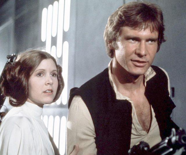 Affair Luar Set Antara Princess Leia dan Hans Solo