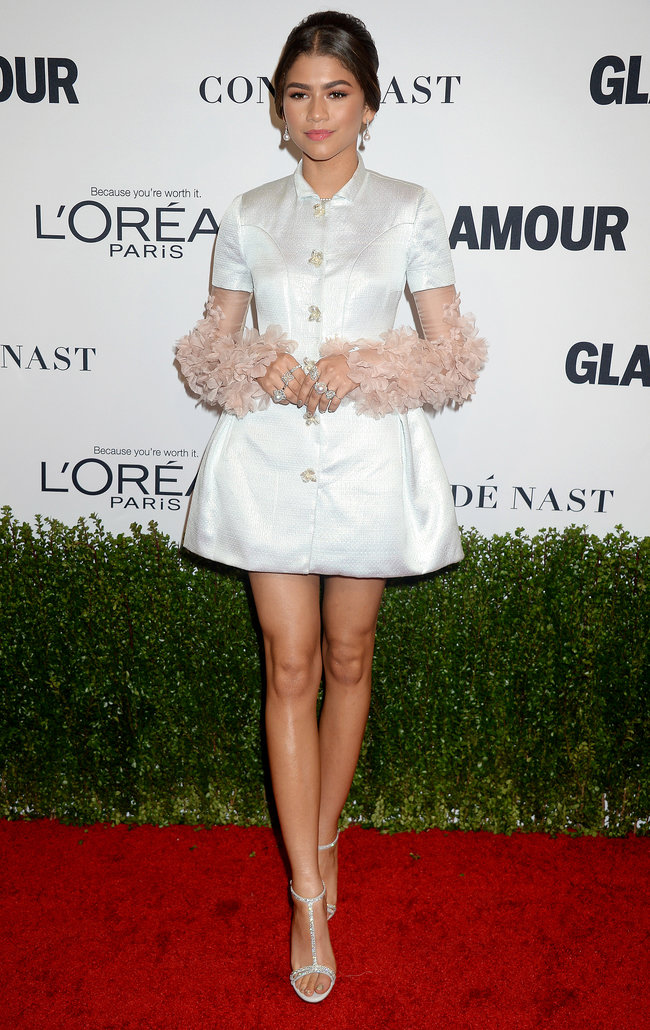 Zendaya semasa di Glamour Women of the Year Awards