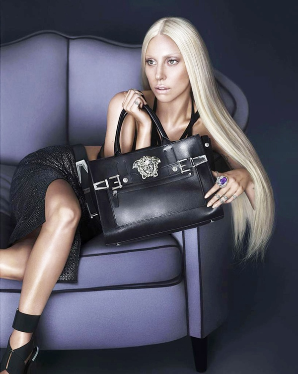 The first images of the new advertising campaign of Versace for spring/summer 2014 stars the mother of little monsters ,Lady Gaga. Gaga wearing a dress from the spring 2014 collection was photographed by the duo Mert Alas and Marcus Piggott looking very much like the sister of Gianni Versace, Donatella. The cooperation of the singer with the Italian fashion house began three years ago .In 2011, Lady Gaga appeared dressed in garments from the last collection designed by Gianni Versace, in her video called The Edge of Glory. 74018 EDITORIAL USE ONLY Scope Features Agency does not claim any Copyright or License in the attached material. Any downloading fees charged by Scope are for Scope services only, and do not, nor are they intended to, convey to the user any Copyright or License in the material. By publishing this material , the user expressly agrees to indemnify and to hold Scope harmless from any claims, demands, or causes of action arising out of or connected in any way with user's publication of the material.