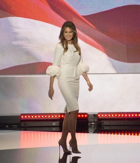 Melania Trump Wanita Pertama Paling Cantik dan Seksi di Dunia?