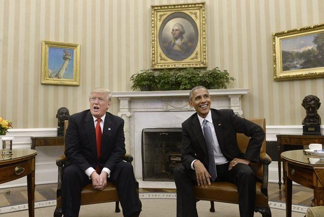 Pertemuan Rahsia Trump dan Obama di White House