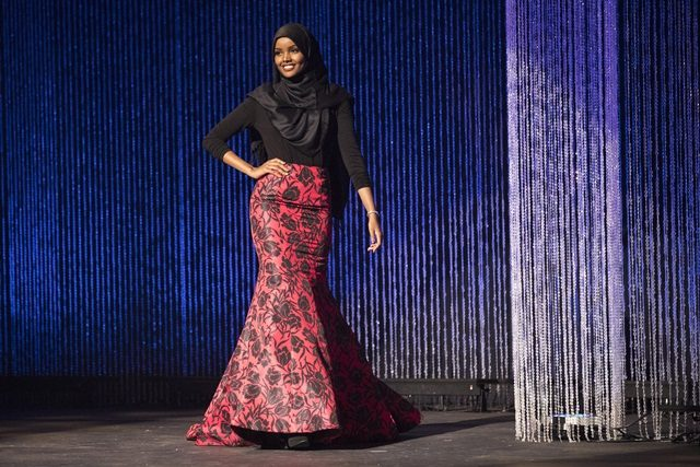 Remaja Berhijab Sertai Pertandingan Ratu Cantik Miss Minnesota USA
