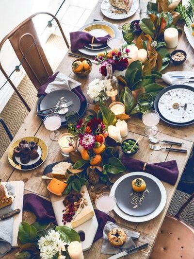 10 Idea Dekorasi Meja Makan Untuk Keraian Istimewa