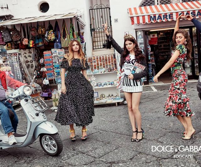 Barisan Millenials Membintangi Kempen SS17 Dolce & Gabbana