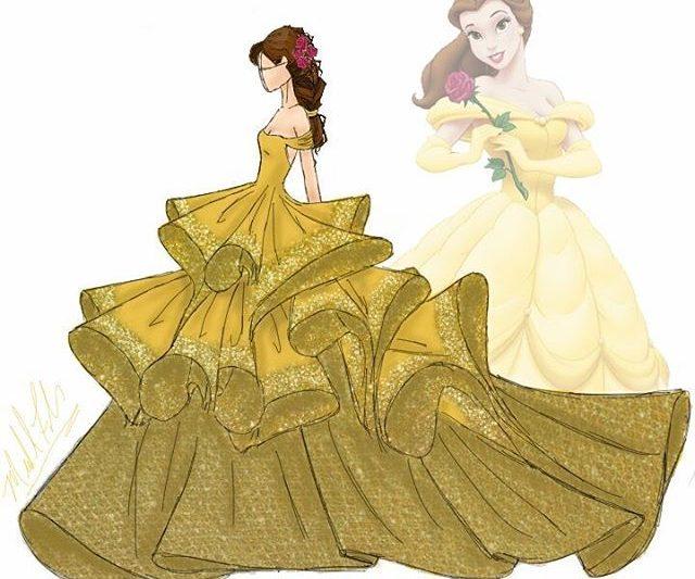Pereka Fesyen Michael Anthony Merealisasikan Gaun Puteri Disney Dalam Bentuk Adi Busana