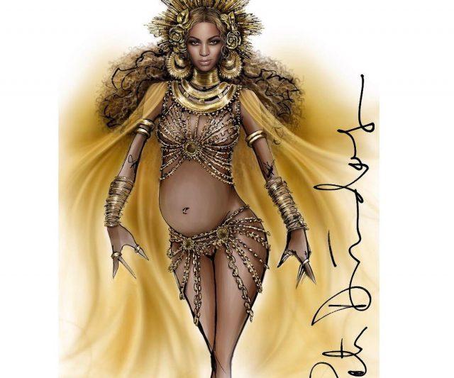 Bekas Pengarah Kreatif Roberto Cavalli Menggayakan Beyoncé Pada Malam Grammy