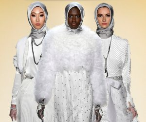 Anniesa Hasibuan Menampilkan Hanya Model-model Imigran Semasa NYFW