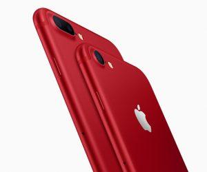 iPhone Berona Merah Pertama Dari Apple Untuk iPhone 7 & 7 Plus