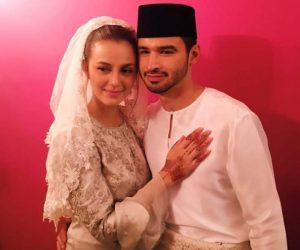 Juliana Evans Selamat Dinikahkan Dengan Y.A.M Tengku Shariffuddin Shah