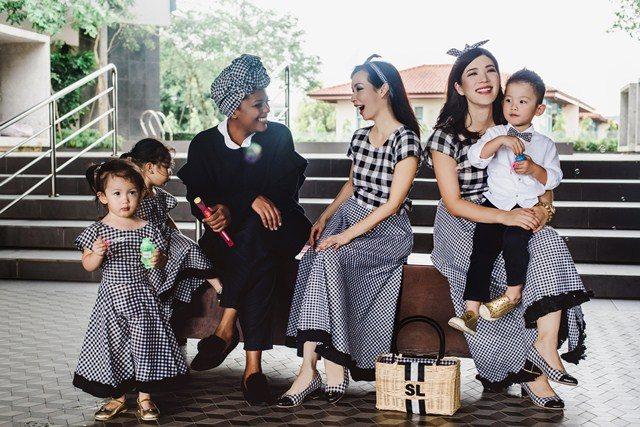 Koleksi Kolaborasi Sereni & Shentel x Roa Skye Untuk Mommy & Me