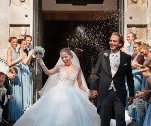 Gaun Perkahwinan $1.3 Juta Waris Swarovski