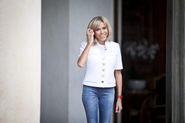 First Lady Perancis Brigitte Macron Enggan Berdiam Diri
