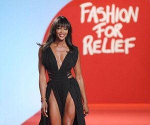 Naomi Campbell Mengenakan 3 Dress Sewaktu Perkahwinan Rakannya