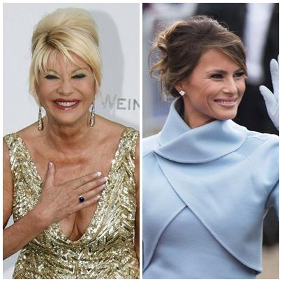 First Lady Melania Trump Memberi Amaran Kepada Bekas Isteri Presiden Trump