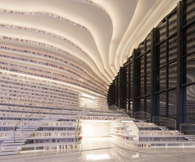 Seni Bina – Perpustakaan Futuristik di China