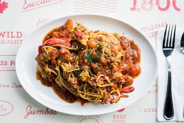 Spaghetti Lobster Enak Musim Perayaan