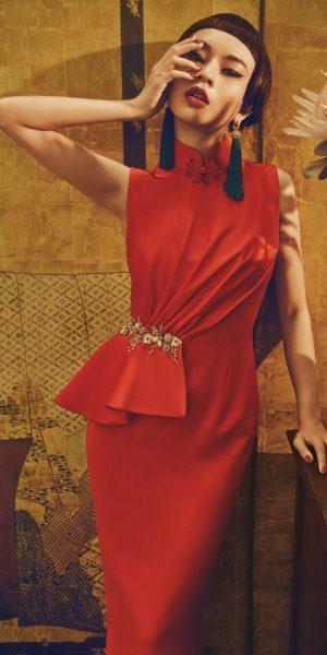 Estetika Peranakan Teras Jiwa Koleksi Innai Red