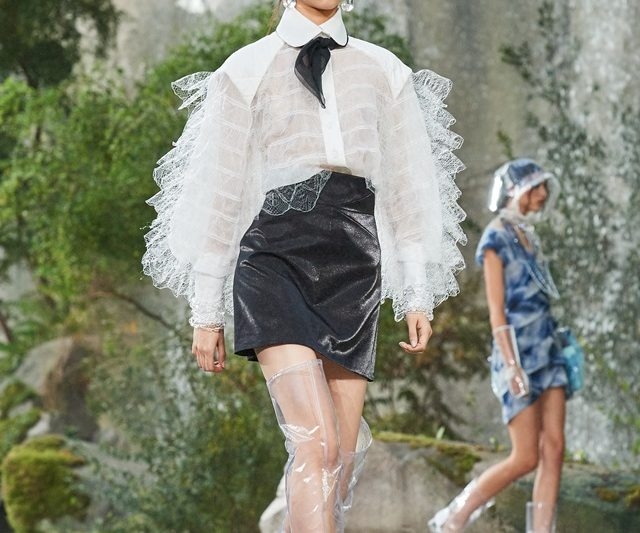 Chanel Bunga/Panas 2018 Eksperimen Wanita Alaf Baru