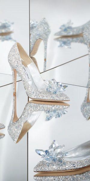 Sepatu Kaca 'Cinderella' Diabadikan Oleh Jimmy Choo
