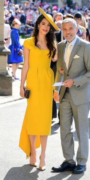 Fesyen Pilihan Tetamu A-List Yang Hadir Ke Majlis Perkahwinan Meghan Markle & Putera Harry